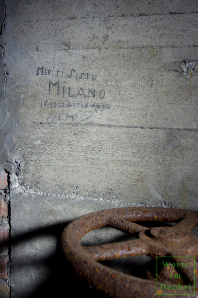 Name des italienischen Militärinternierten Sisto Merisi aus Mailand