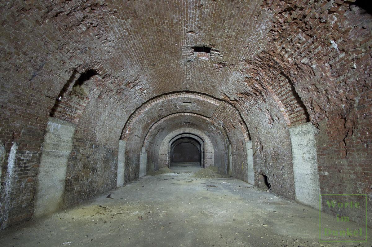 Brauereihalle, die als U-Verlagerung adaptiert wurde