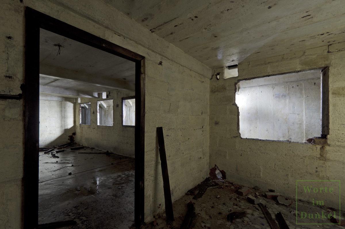 Büroräume einer U-Verlagerung