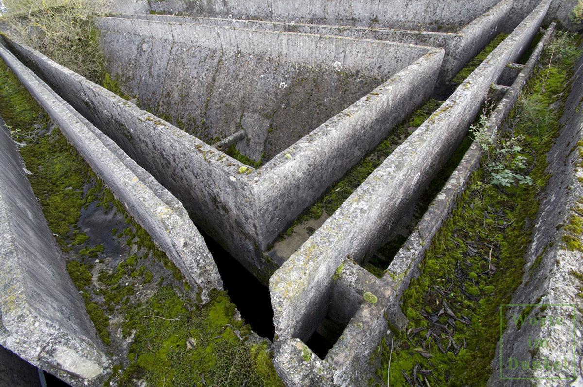 Kläranlage des Konzentrationslagers Gusen I