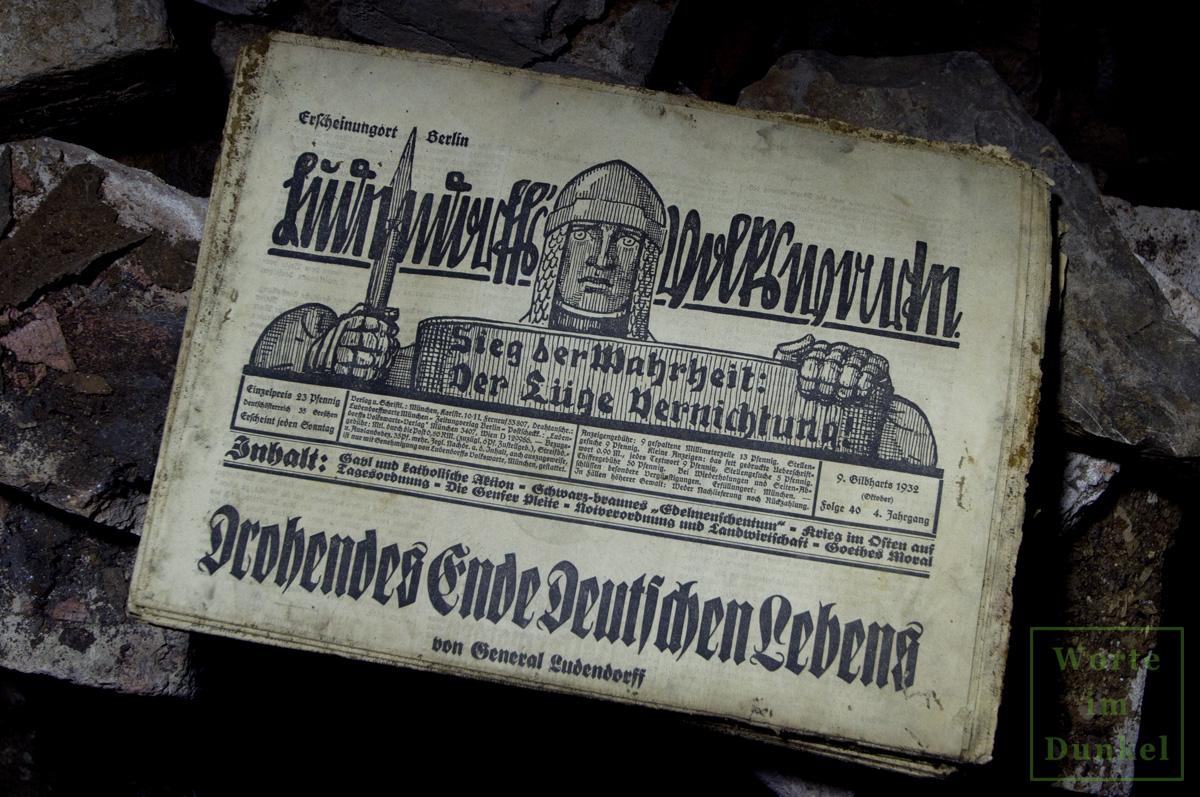"""Leitartikel """"Drohendes Ende deutschen Lebens"""""""