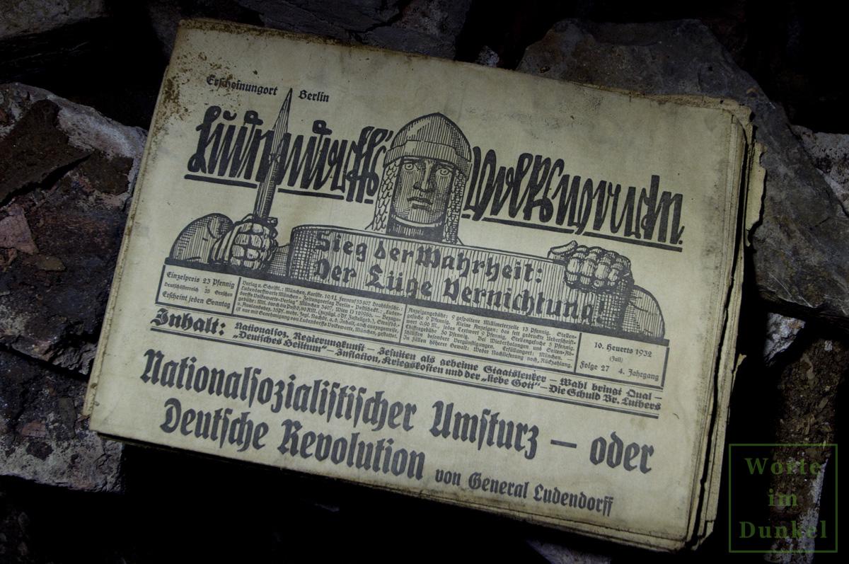 """Leitartikel """"Nationalsozialistischer Umsturz – oder Deutsche Revolution"""""""