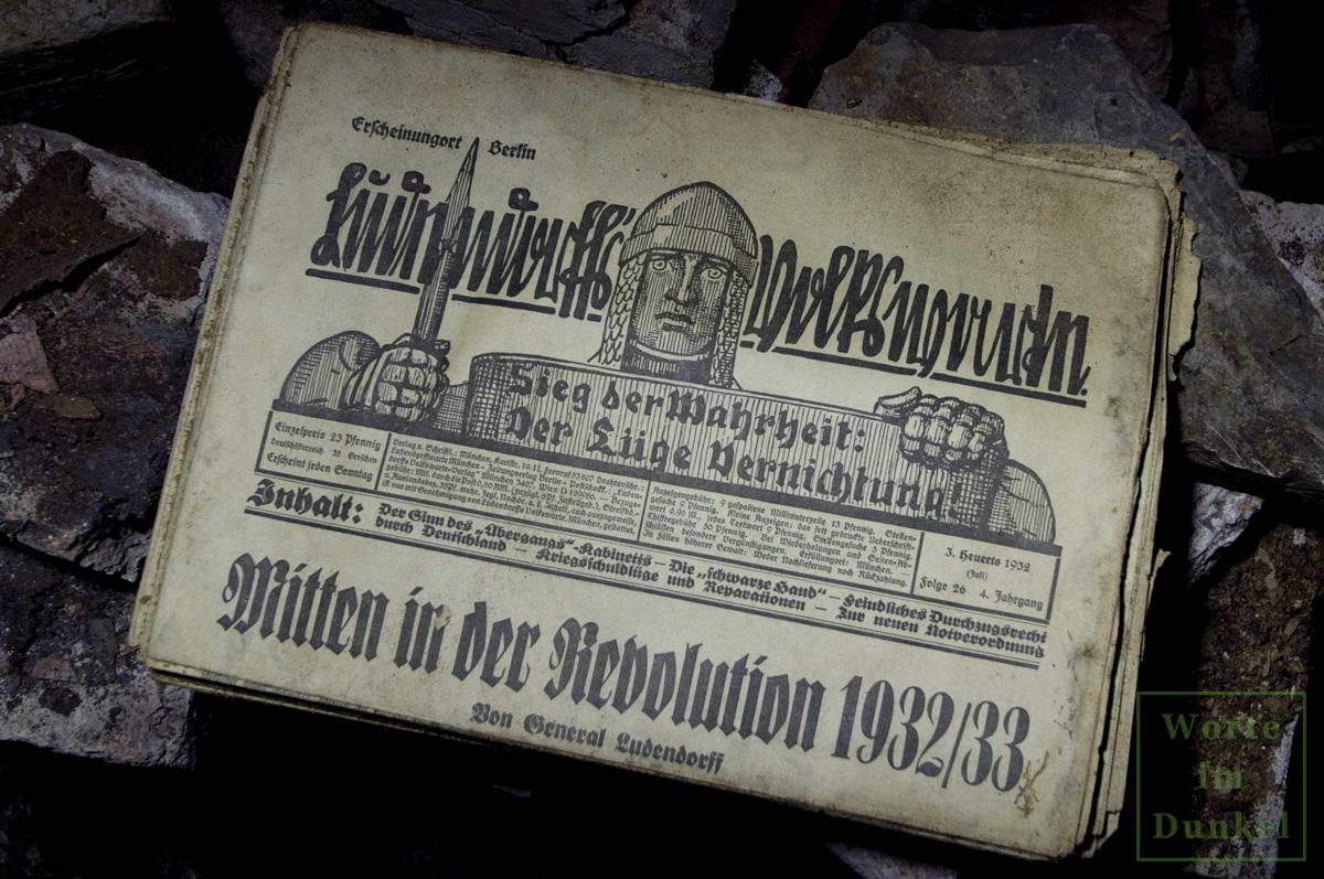 """Leitartikel """"Mitten in der Revolution 1932/33"""""""