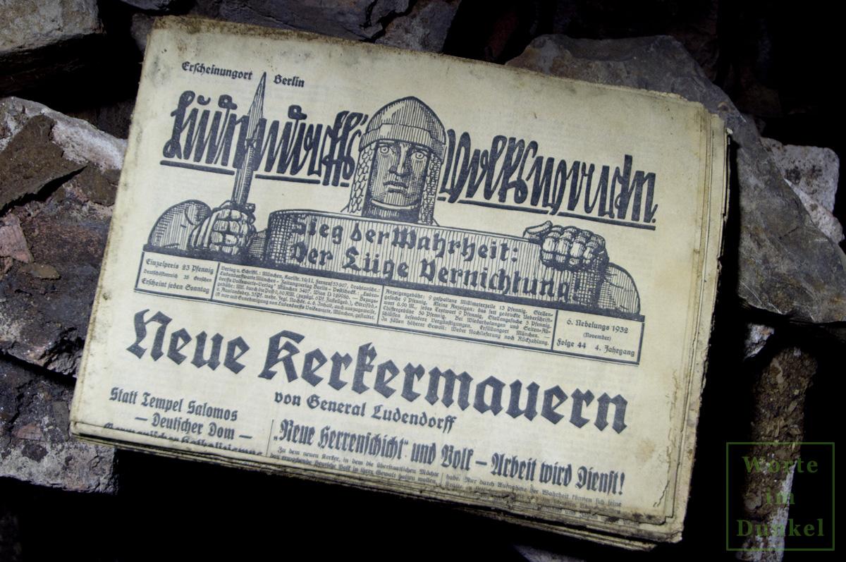 "Leitartikel ""Neue Kerkermauern"""