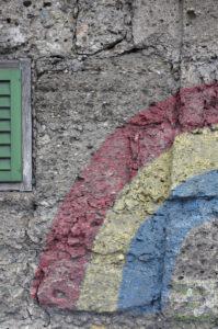 Der Regenbogen der 42nd Rainbow Division in Salzburg