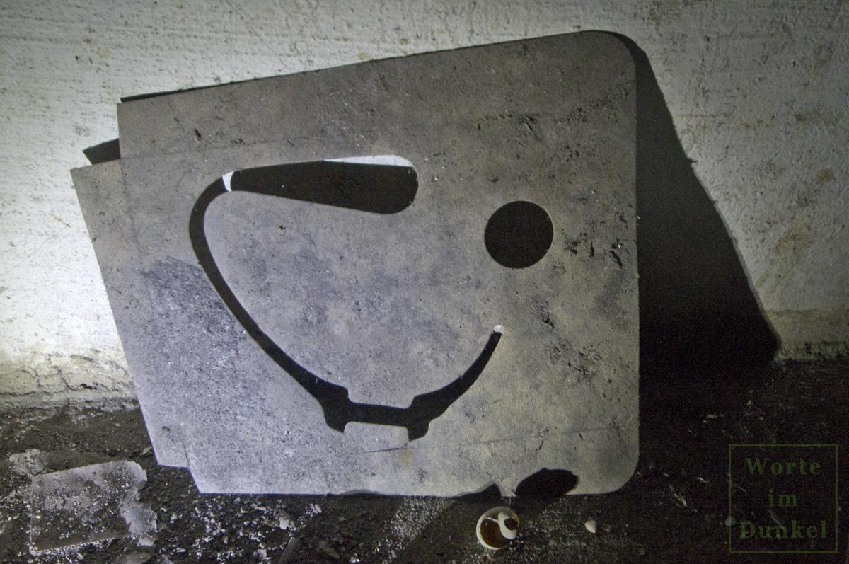 Verpackungsmaterial der Volksgasmaske