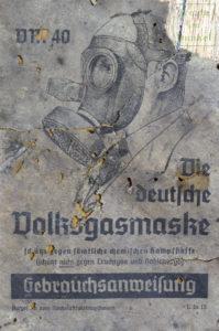 Gebrauchanweisung für die Volksgasmaske – Seite 1