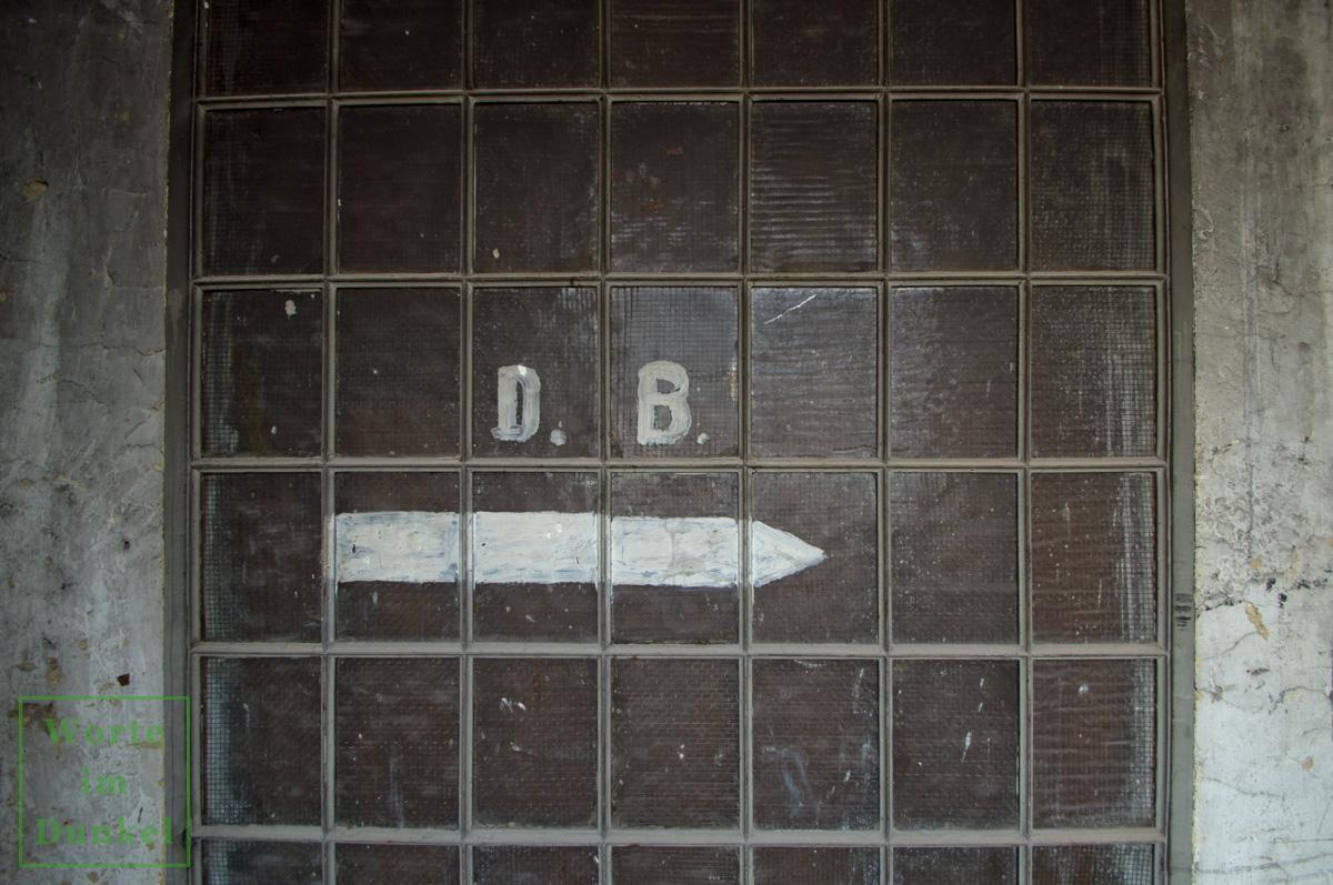 Auch D.B. könnte für Durchbruch gestanden haben