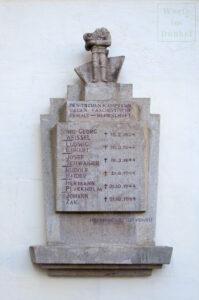 Denkmal für Feuerwehrmänner, die im Austrofaschismus und Nationalsozialismus ermordet wurden